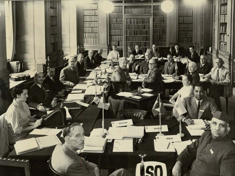 In 1955, ISO members gather in Stockholm for the 3rd General Assembly.